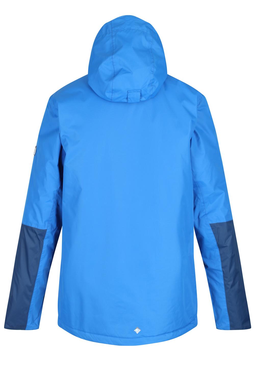 Regatta-Mens-Fabens-Raincoat-Waterproof-Insulated-Thermal-Breathable-Jacket-Coat thumbnail 7