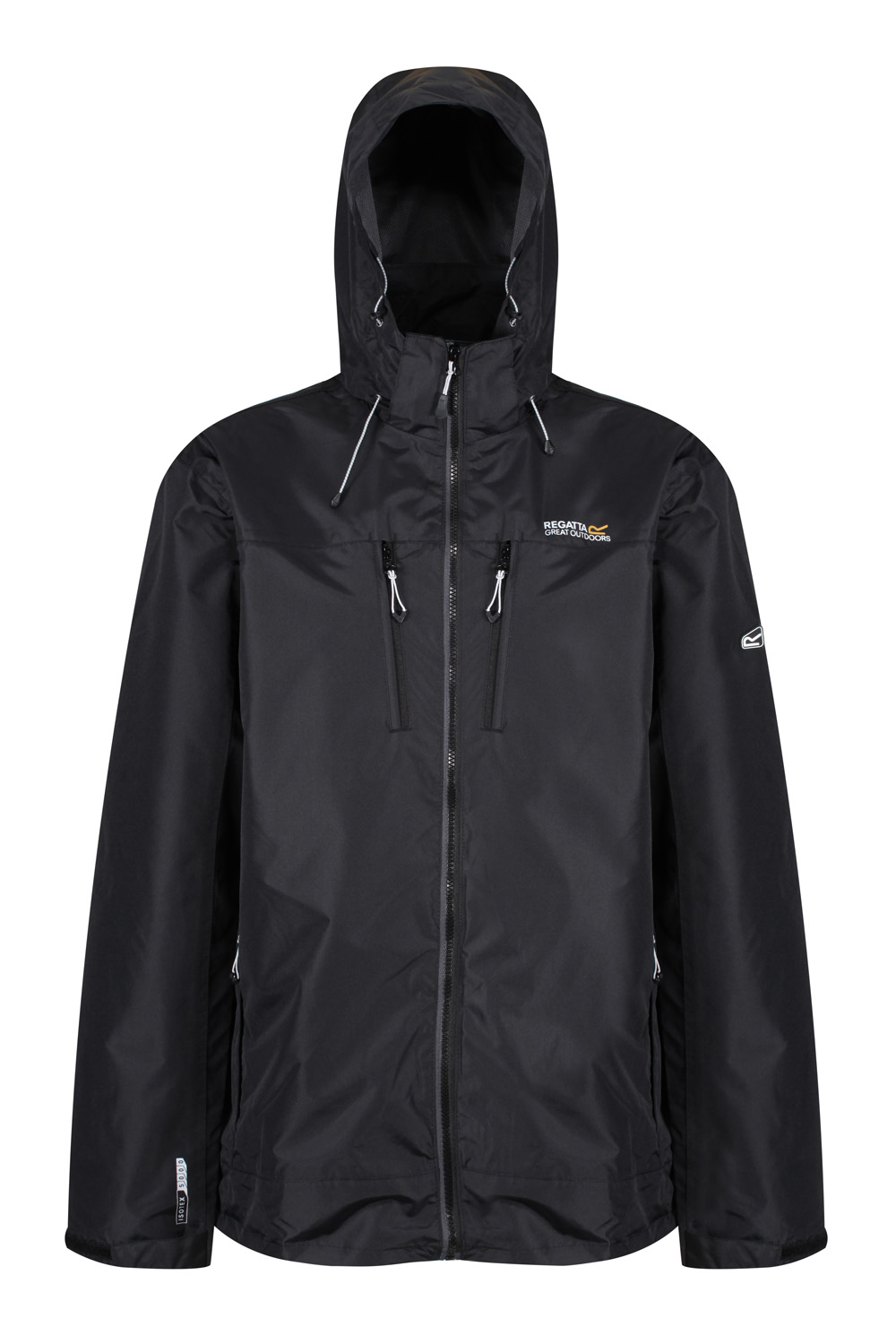 Regatta-Mens-Calderdale-II-Jacket-Waterproof-Breathable-Isotex-5000-Hooded-Coat thumbnail 5