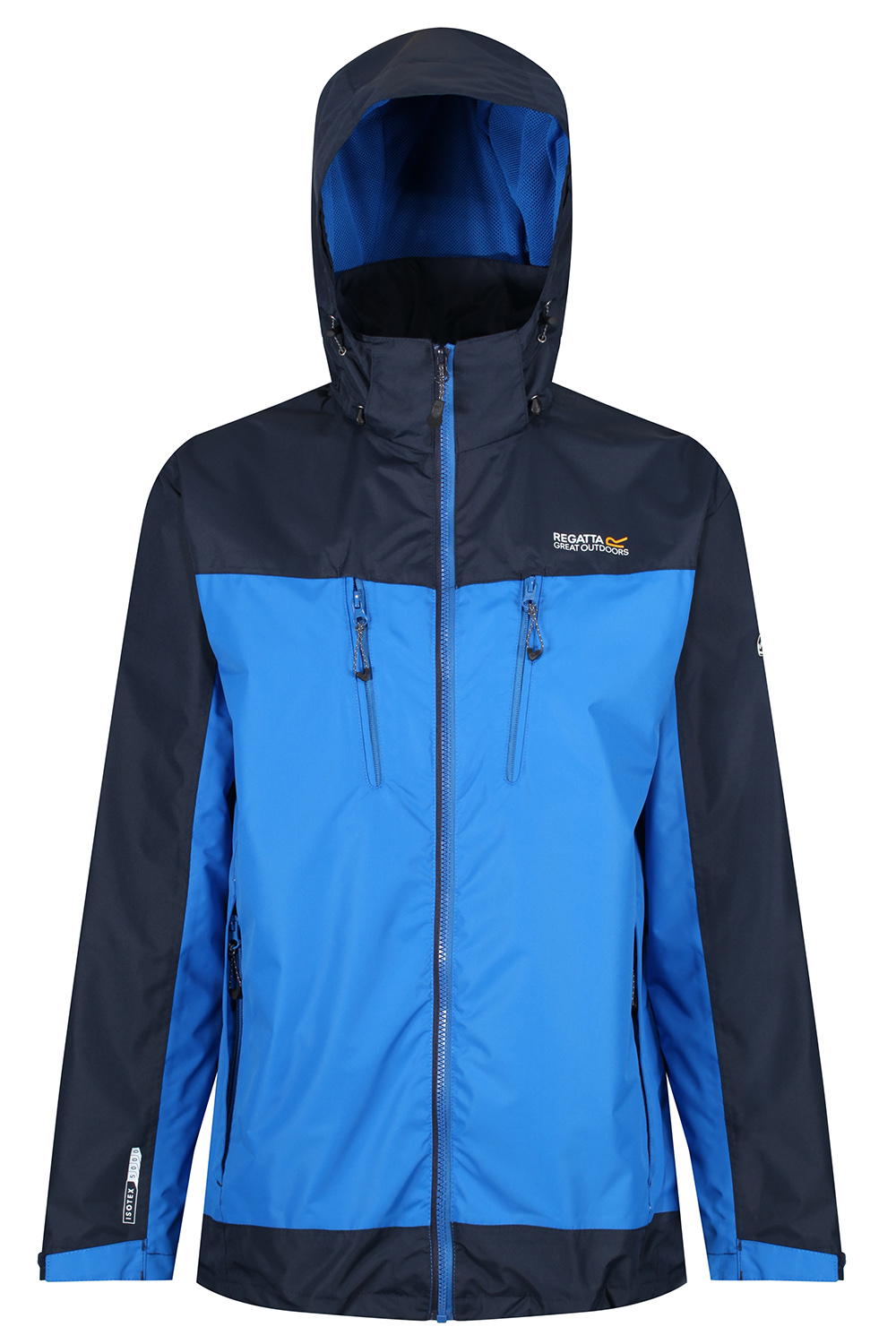 Regatta-Mens-Calderdale-II-Jacket-Waterproof-Breathable-Isotex-5000-Hooded-Coat thumbnail 12