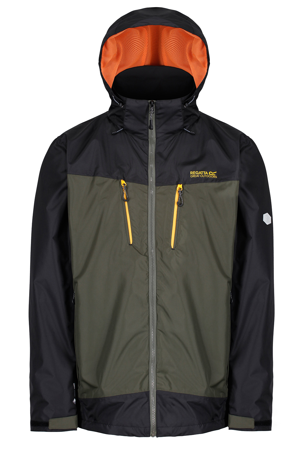 Regatta-Mens-Calderdale-II-Jacket-Waterproof-Breathable-Isotex-5000-Hooded-Coat thumbnail 26