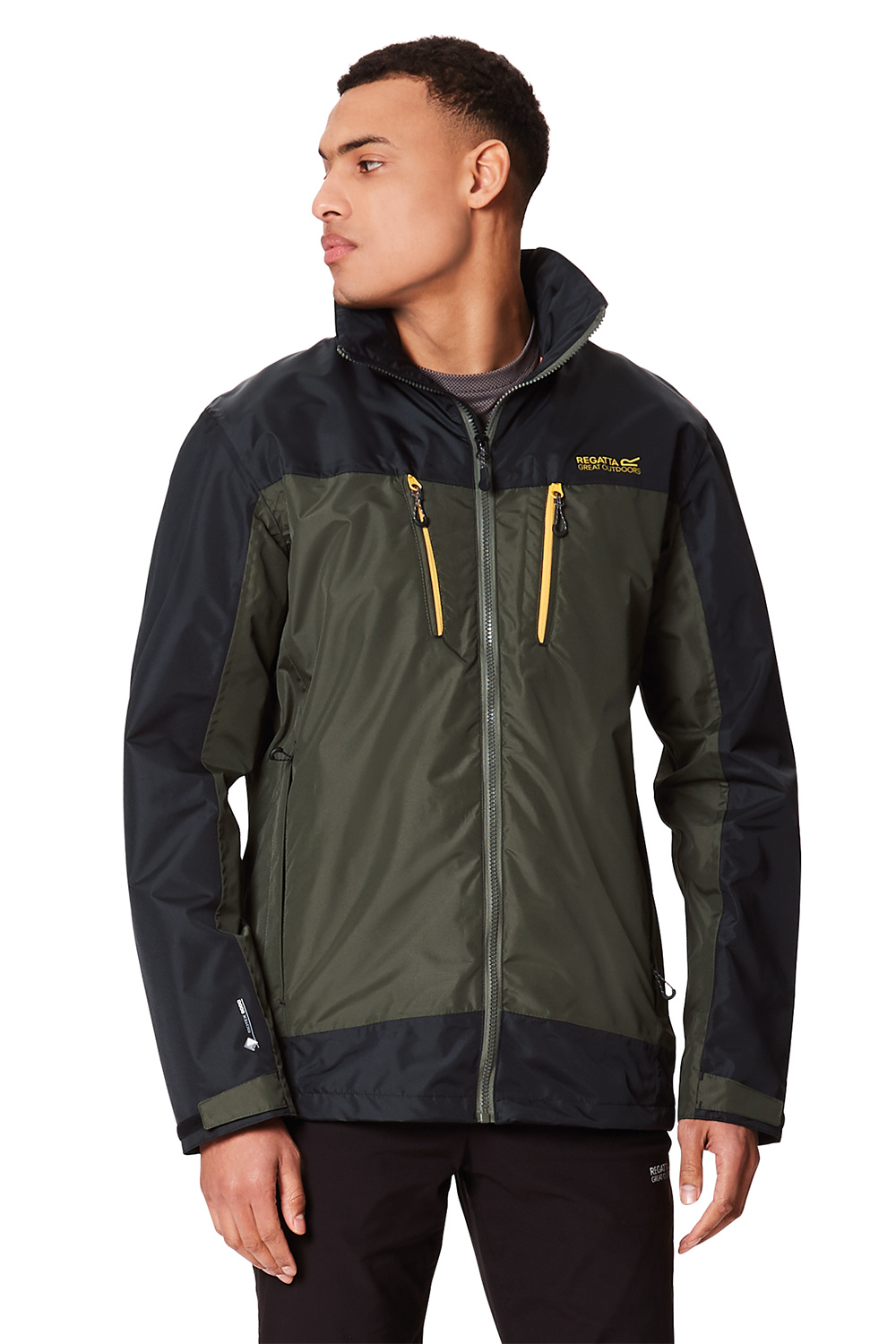 Regatta-Mens-Calderdale-II-Jacket-Waterproof-Breathable-Isotex-5000-Hooded-Coat thumbnail 22