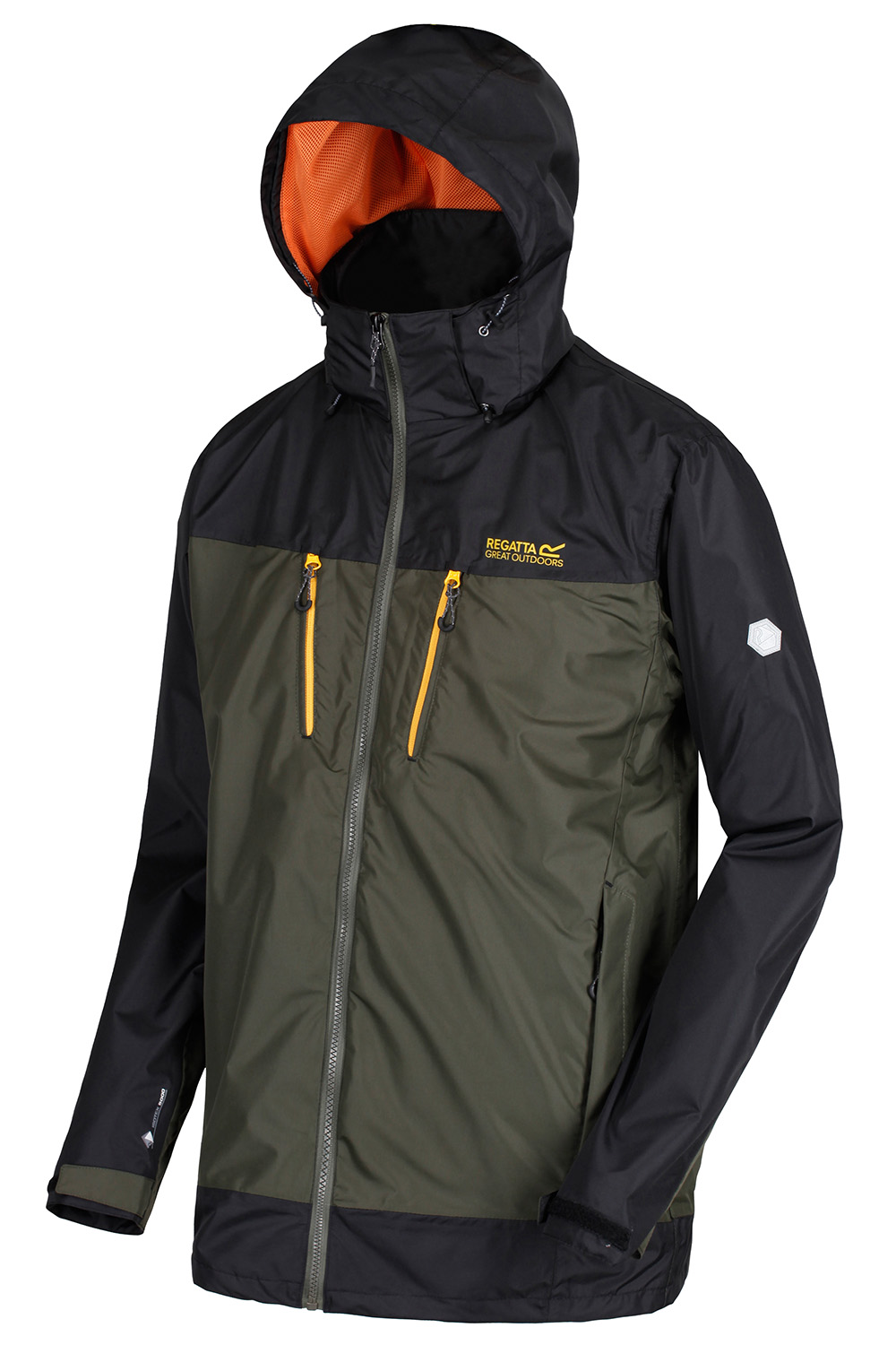 Regatta-Mens-Calderdale-II-Jacket-Waterproof-Breathable-Isotex-5000-Hooded-Coat thumbnail 24
