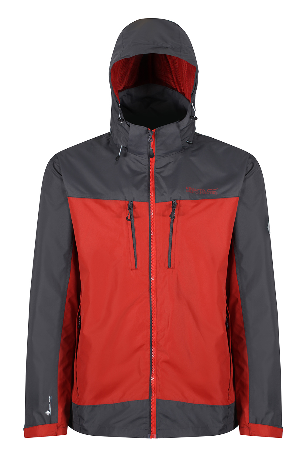 Regatta-Mens-Calderdale-II-Jacket-Waterproof-Breathable-Isotex-5000-Hooded-Coat thumbnail 19