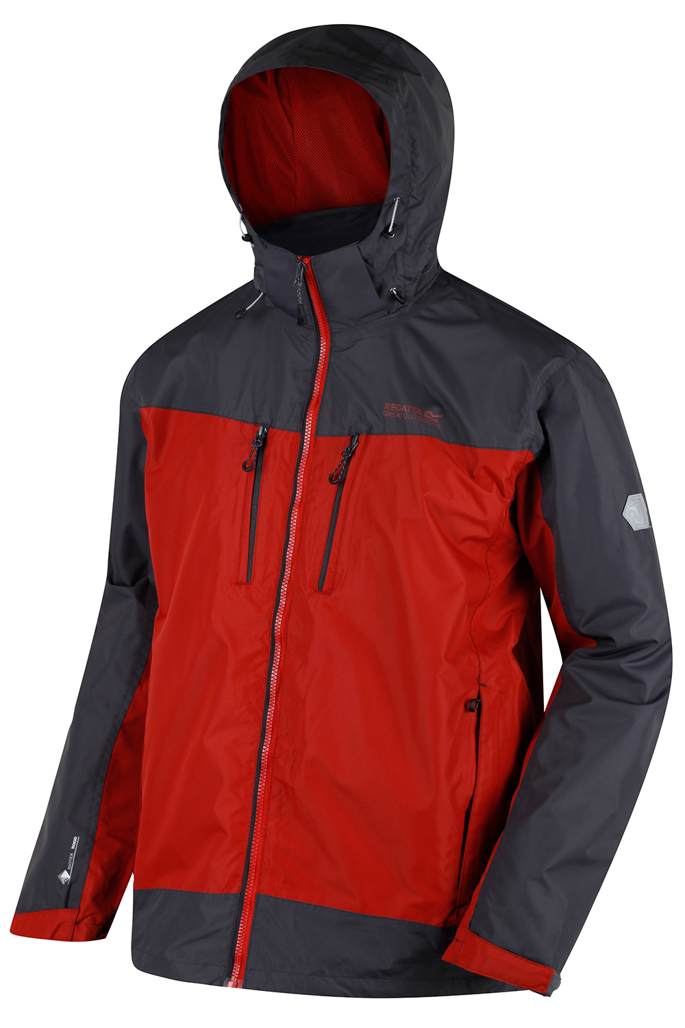 Regatta-Mens-Calderdale-II-Jacket-Waterproof-Breathable-Isotex-5000-Hooded-Coat thumbnail 17