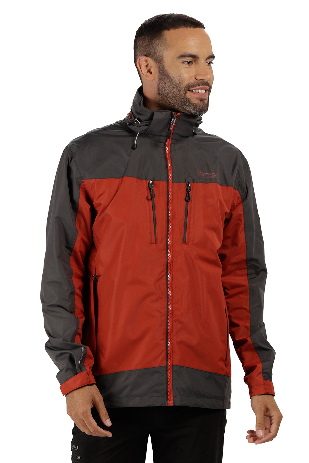 Regatta-Mens-Calderdale-II-Jacket-Waterproof-Breathable-Isotex-5000-Hooded-Coat thumbnail 15
