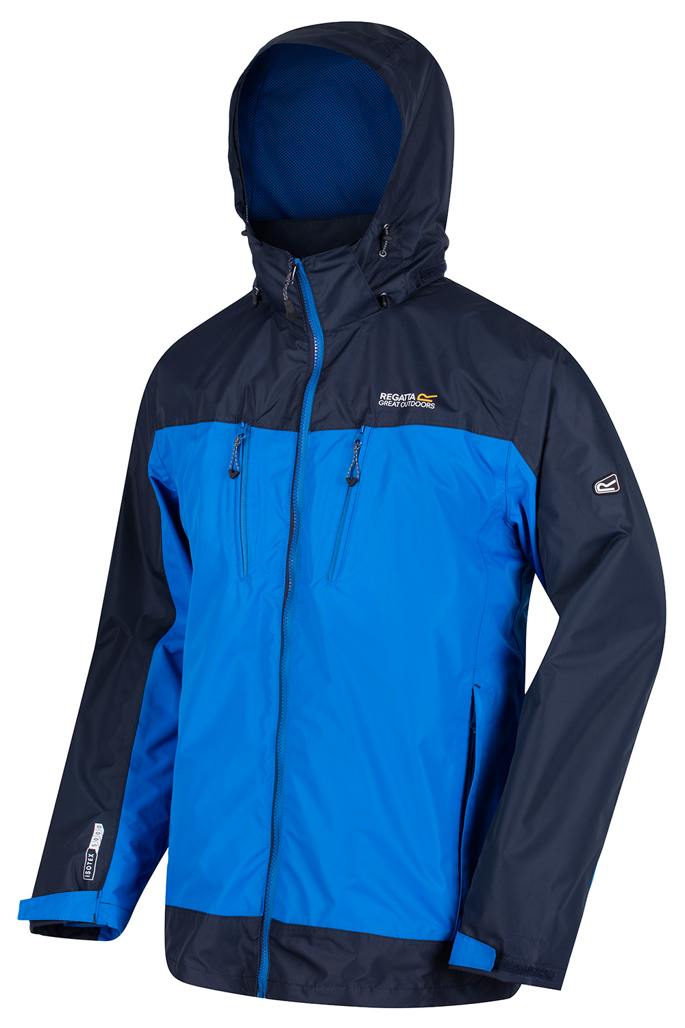 Regatta-Mens-Calderdale-II-Jacket-Waterproof-Breathable-Isotex-5000-Hooded-Coat thumbnail 10