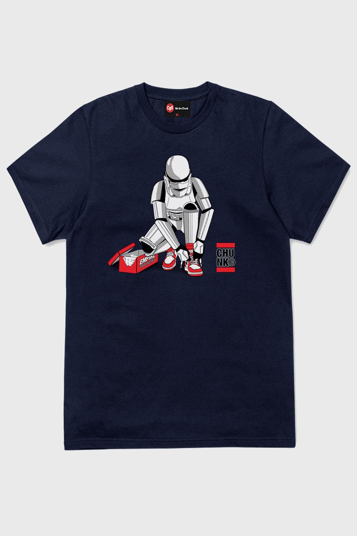Chunk-Mens-Stormtrooper-Out-Of-The-Box-T-Shirt-Original-Star-Wars-Designer-Top thumbnail 9