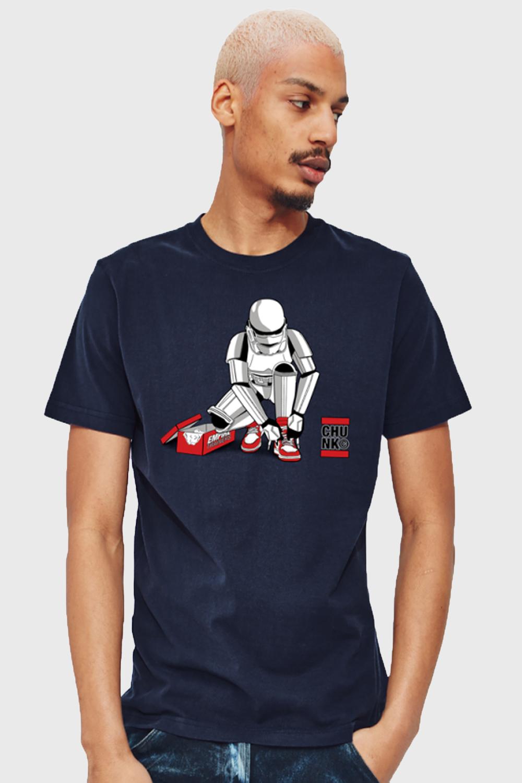 Chunk-Mens-Stormtrooper-Out-Of-The-Box-T-Shirt-Original-Star-Wars-Designer-Top thumbnail 8