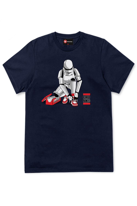 Chunk-Mens-Stormtrooper-Out-Of-The-Box-T-Shirt-Original-Star-Wars-Designer-Top thumbnail 7