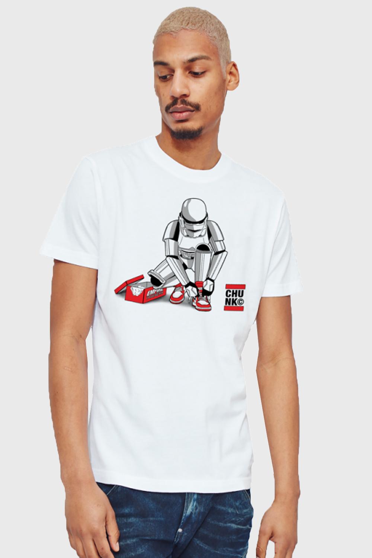 Chunk-Mens-Stormtrooper-Out-Of-The-Box-T-Shirt-Original-Star-Wars-Designer-Top thumbnail 4
