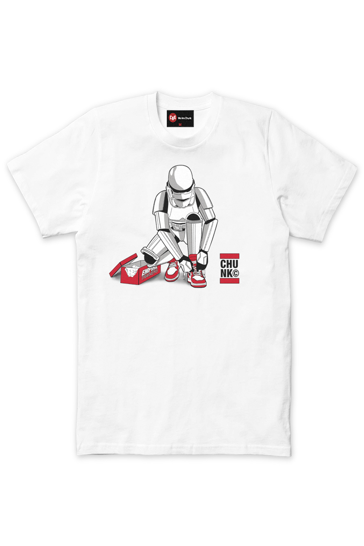 Chunk-Mens-Stormtrooper-Out-Of-The-Box-T-Shirt-Original-Star-Wars-Designer-Top thumbnail 3