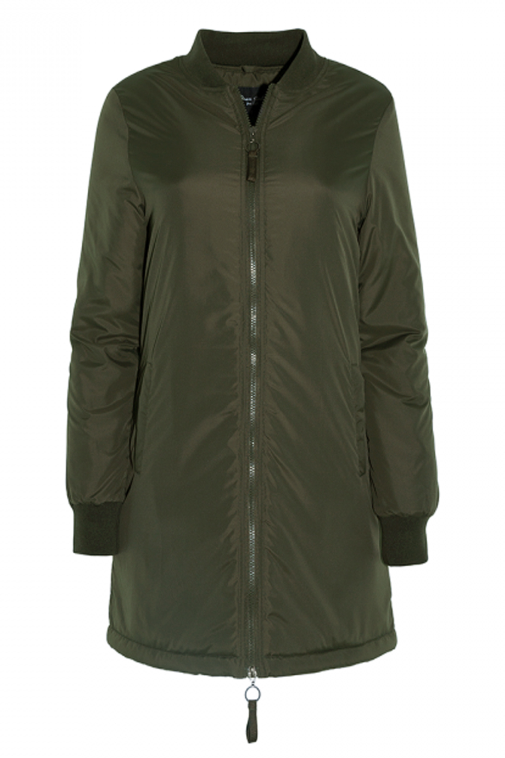 Brave Soul Womens Havens Padded Coat Quilted Longline