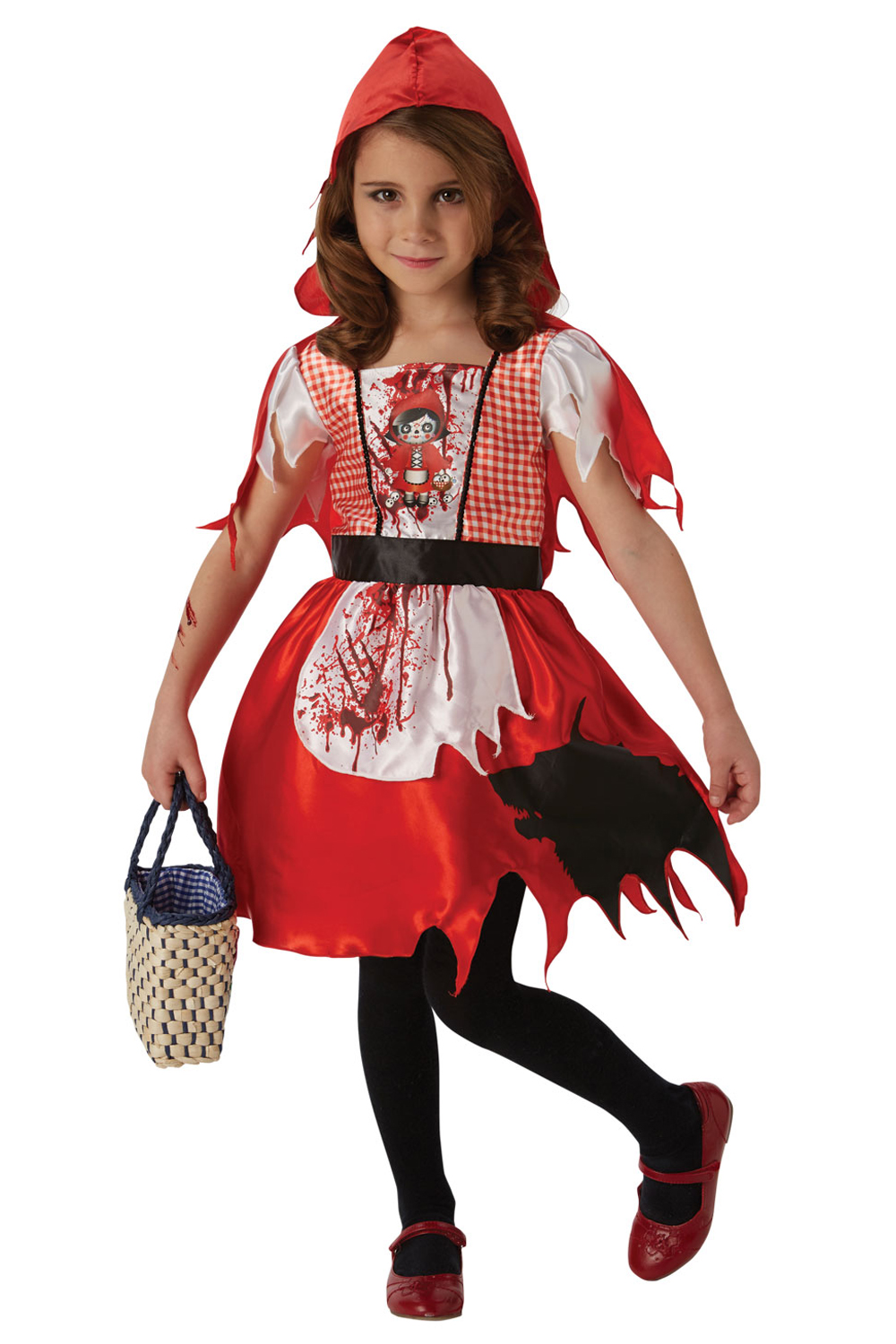 Girls Hagatha the Witch Costumes Book Week Halloween Fancy Dress Outfit  Kids