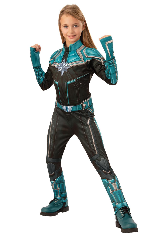 Rubies Kids Official Deluxe Captain Marvel Kree Or Hero 3d Fancy Dress Costume Ebay Authentic disney parks marvel avengers captain america costume sound fx sz 3 xxs. rubie s
