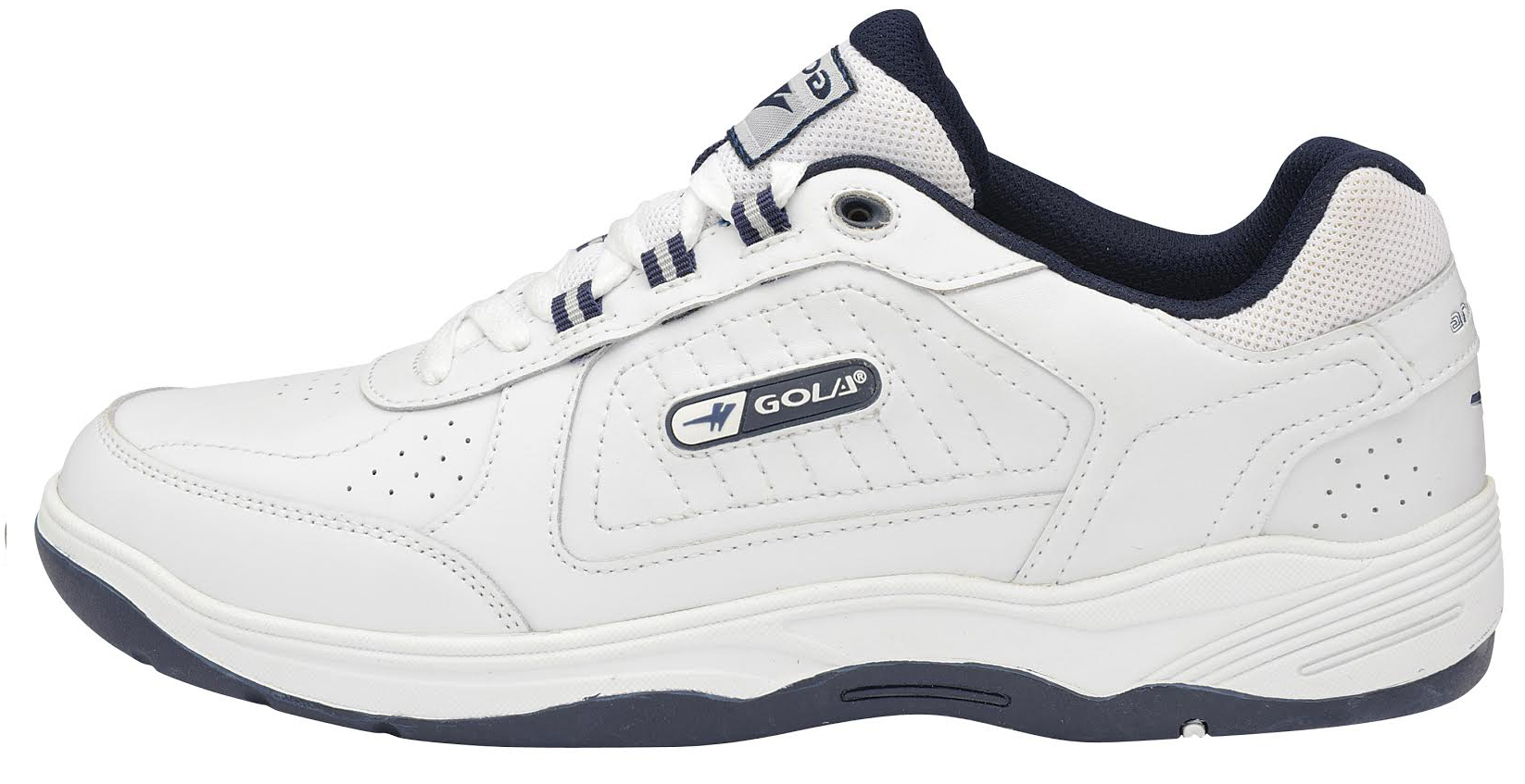Uomo Trainers Gola Belmont New Lace Up Wide Sneaker EE Fit Leder Sports Sneaker Wide Schuhes 3f2006