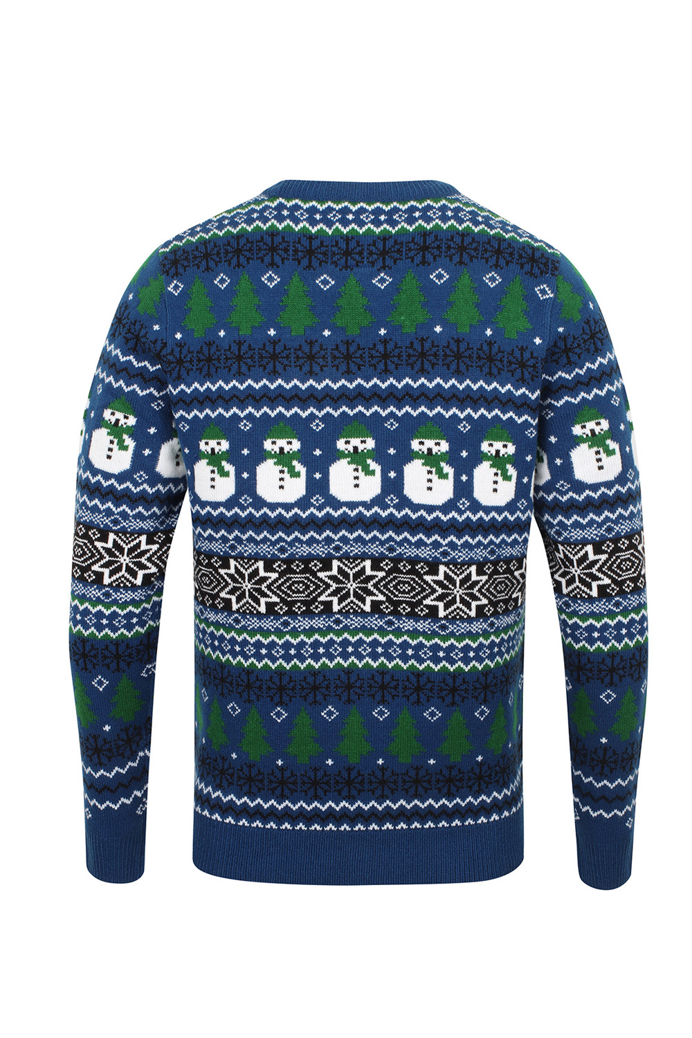 Seasons-Greetings-Childrens-Novelty-Christmas-Jumpers-Festive-Winter-Sweaters thumbnail 14