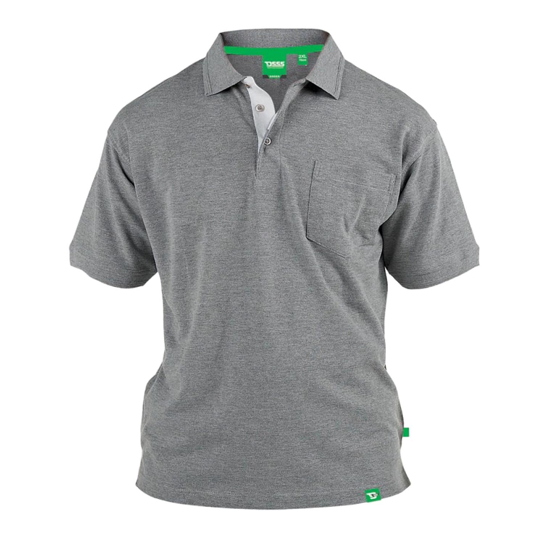f36782422 Duke D555 Big Tall King Size Mens Grant Polo Shirt Casual Collared ...