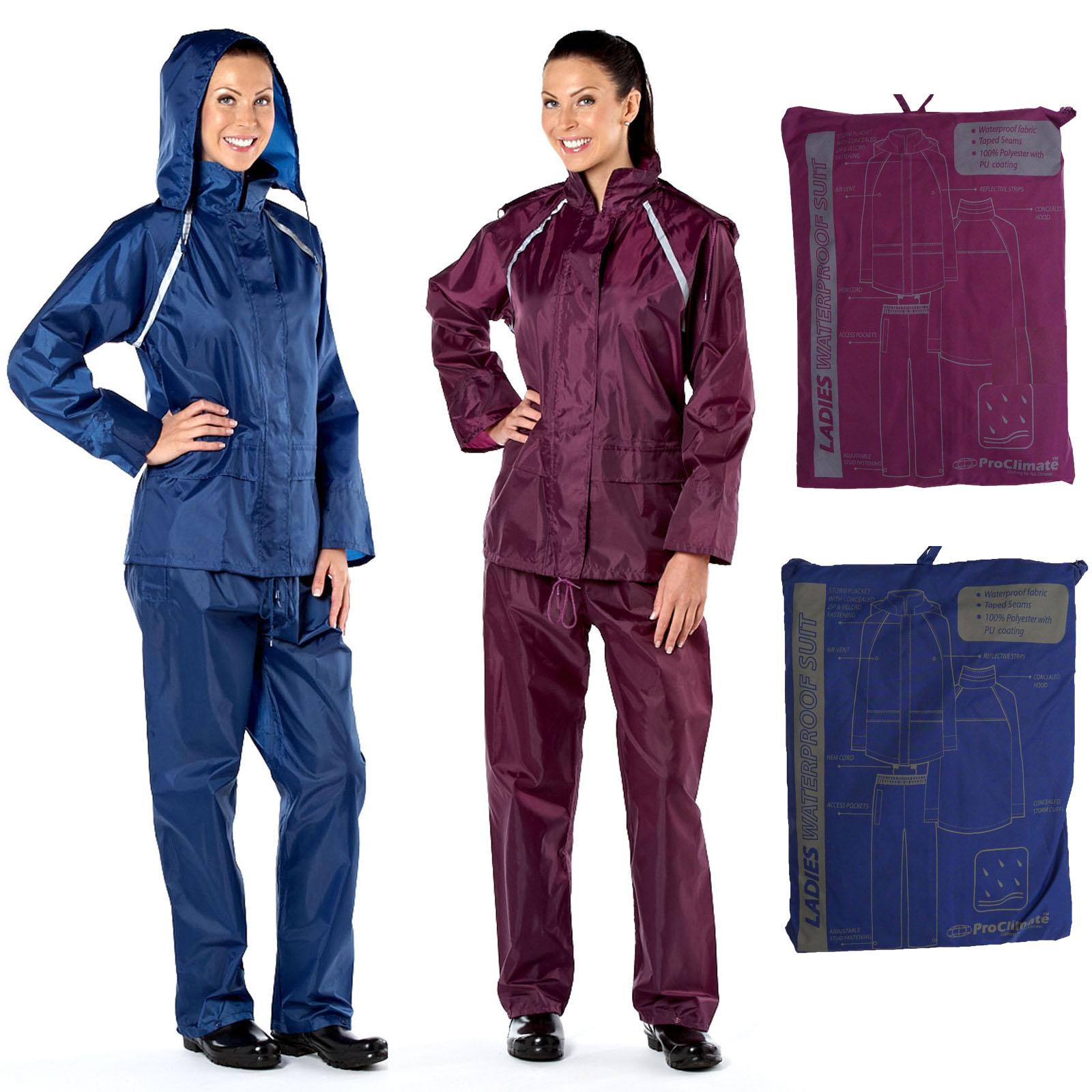 Ladies Cagoule Waterproof Jacket Designer Jackets