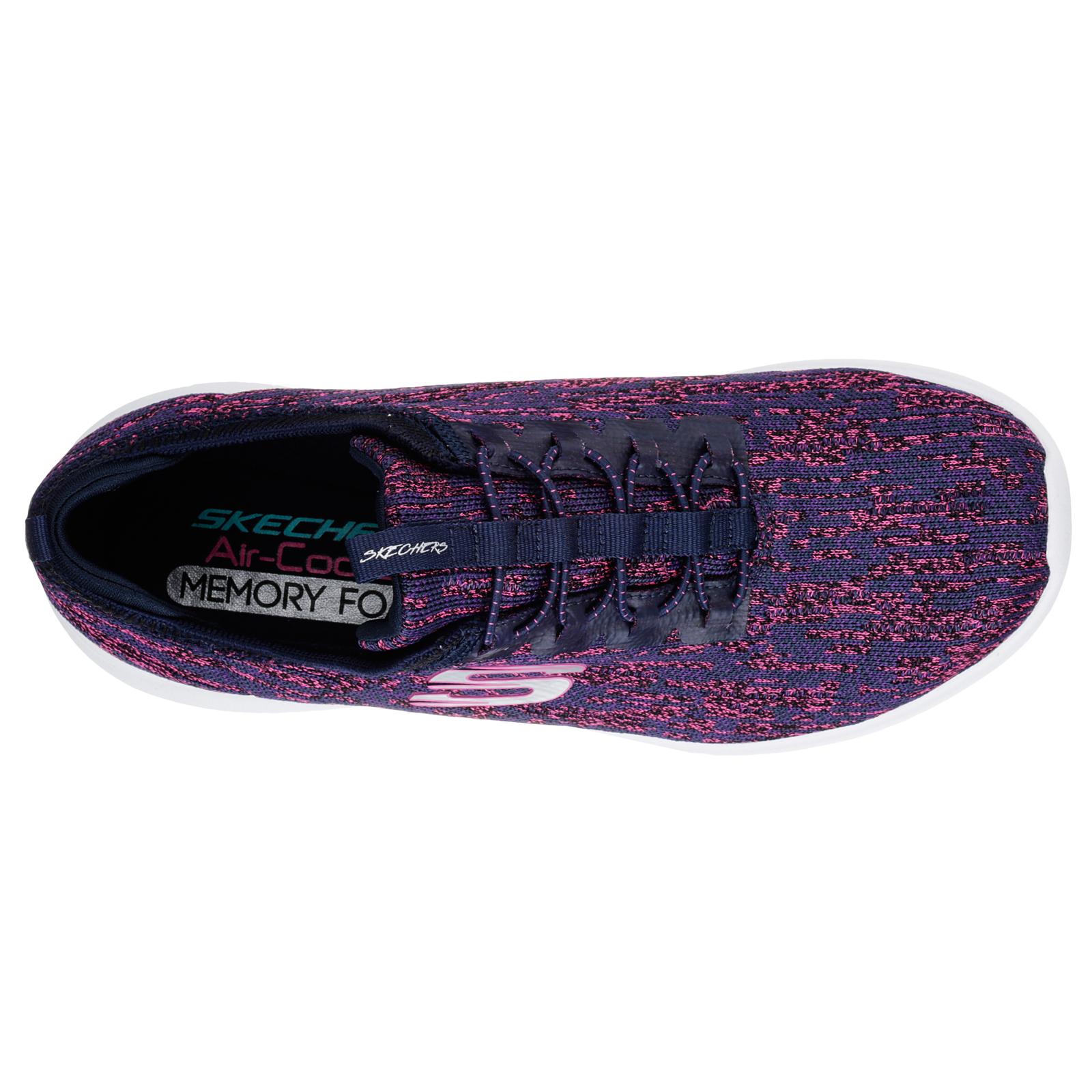 Skechers-Womens-Ultra-Flex-Bright-Horizon-Memory-Foam-Scarpe-Sportive-con-Lacci miniatura 12