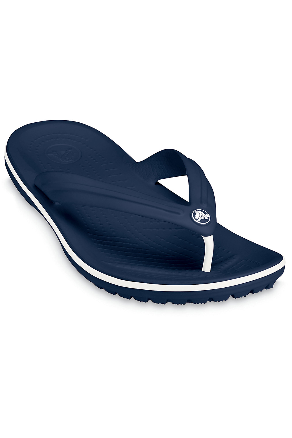 60e420093c75 Crocs 11033 Crocband Flip Navy Toe Post Sandal Various Sizes M4 w5 ...