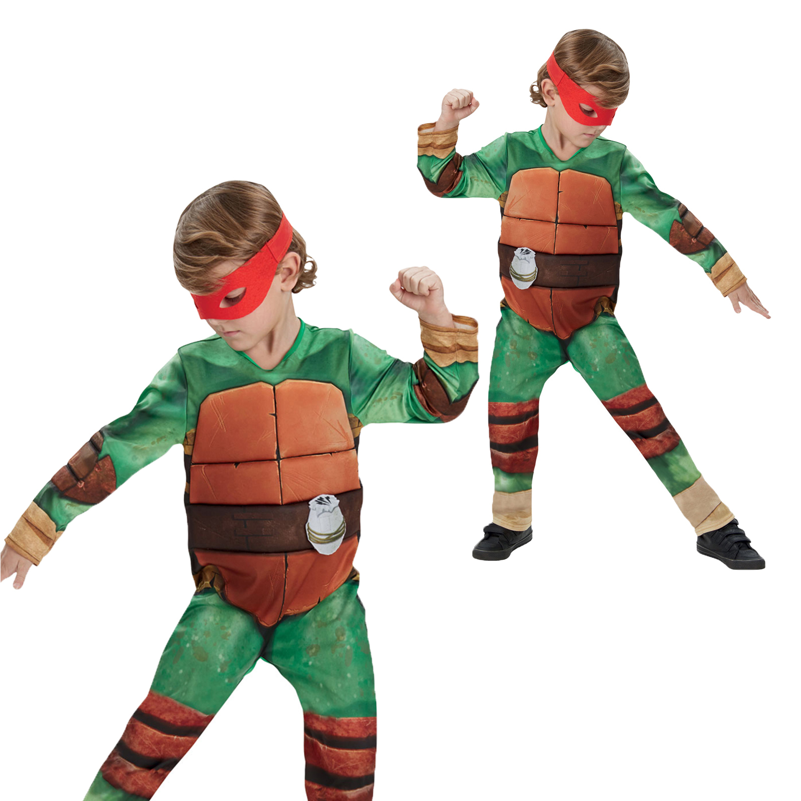rubies kinder deluxe teenage mutant ninja turtles kost m kleid outfit ebay. Black Bedroom Furniture Sets. Home Design Ideas