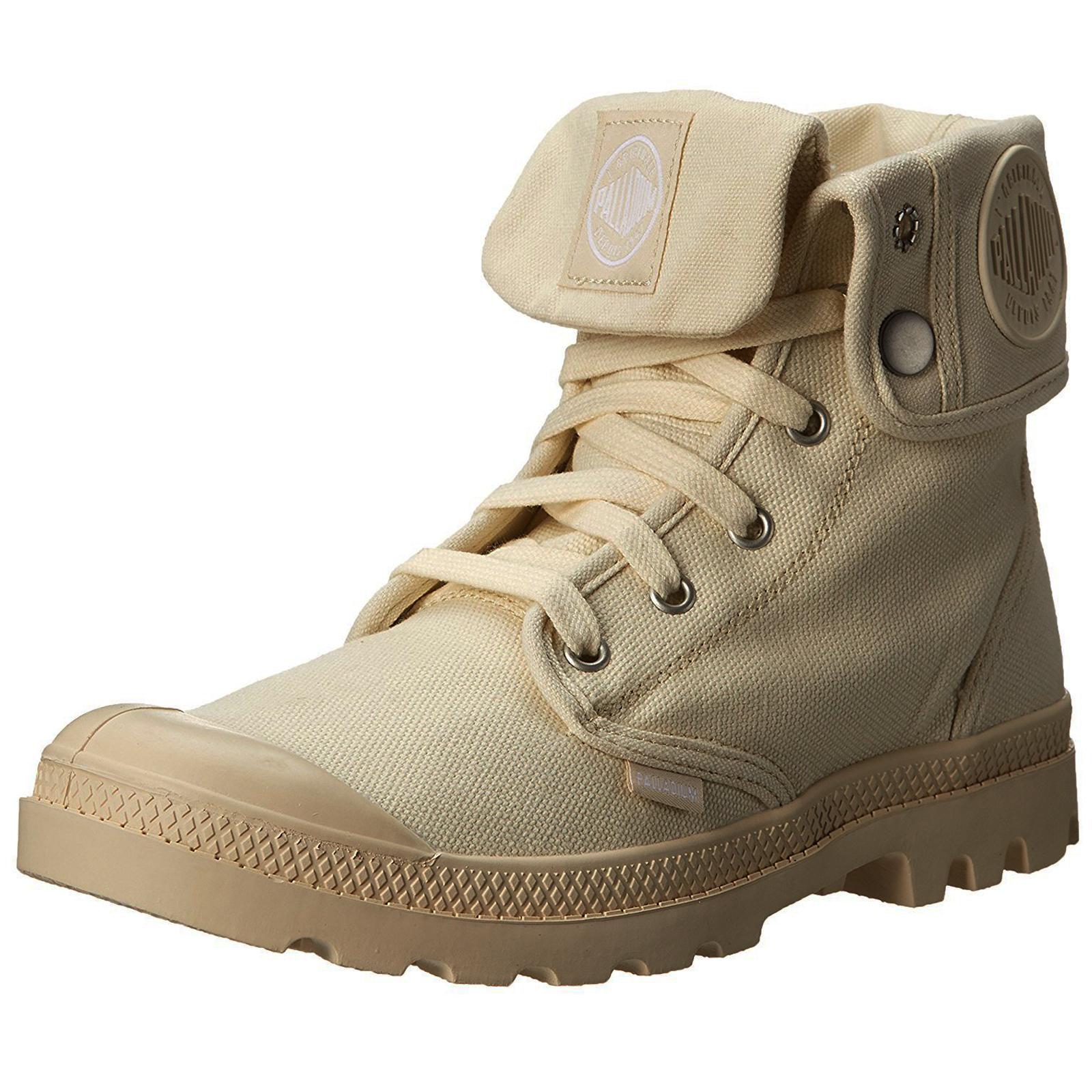 Palladium-Holgado-de-lona-para-mujer-Botas-al-Tobillo-Zapatos-para-caminar-senoras-diseno-de-dos