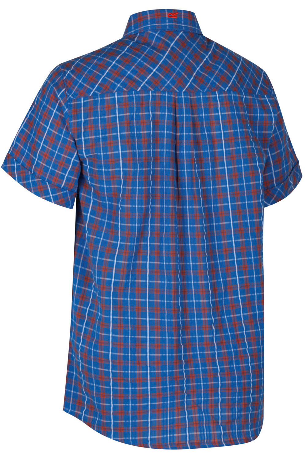 Regatta-Mens-Deakin-II-Coolweave-Cotton-Short-Sleeved-Summer-Check-Shirt-RRP-50 thumbnail 27