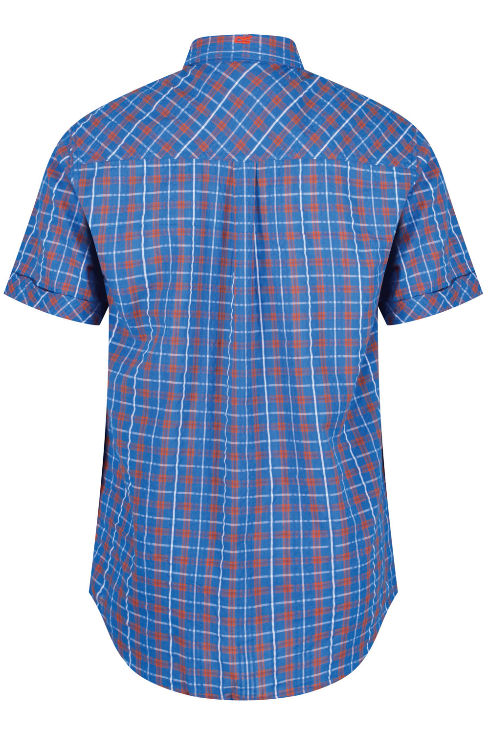 Regatta-Mens-Deakin-II-Coolweave-Cotton-Short-Sleeved-Summer-Check-Shirt-RRP-50 thumbnail 25