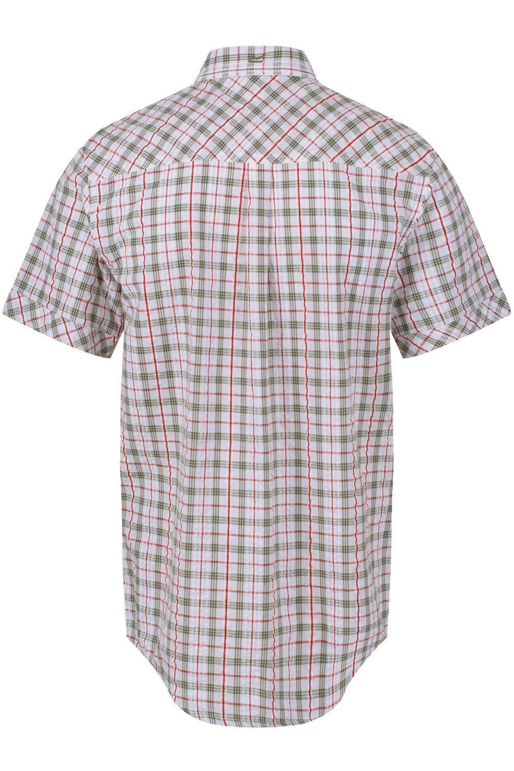 Regatta-Mens-Deakin-II-Coolweave-Cotton-Short-Sleeved-Summer-Check-Shirt-RRP-50 thumbnail 11
