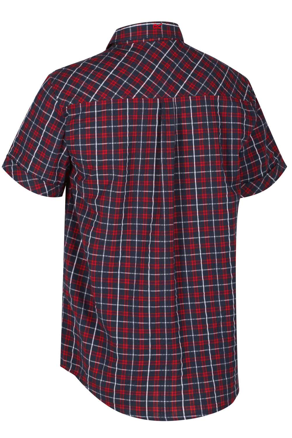 Regatta-Mens-Deakin-II-Coolweave-Cotton-Short-Sleeved-Summer-Check-Shirt-RRP-50 thumbnail 6