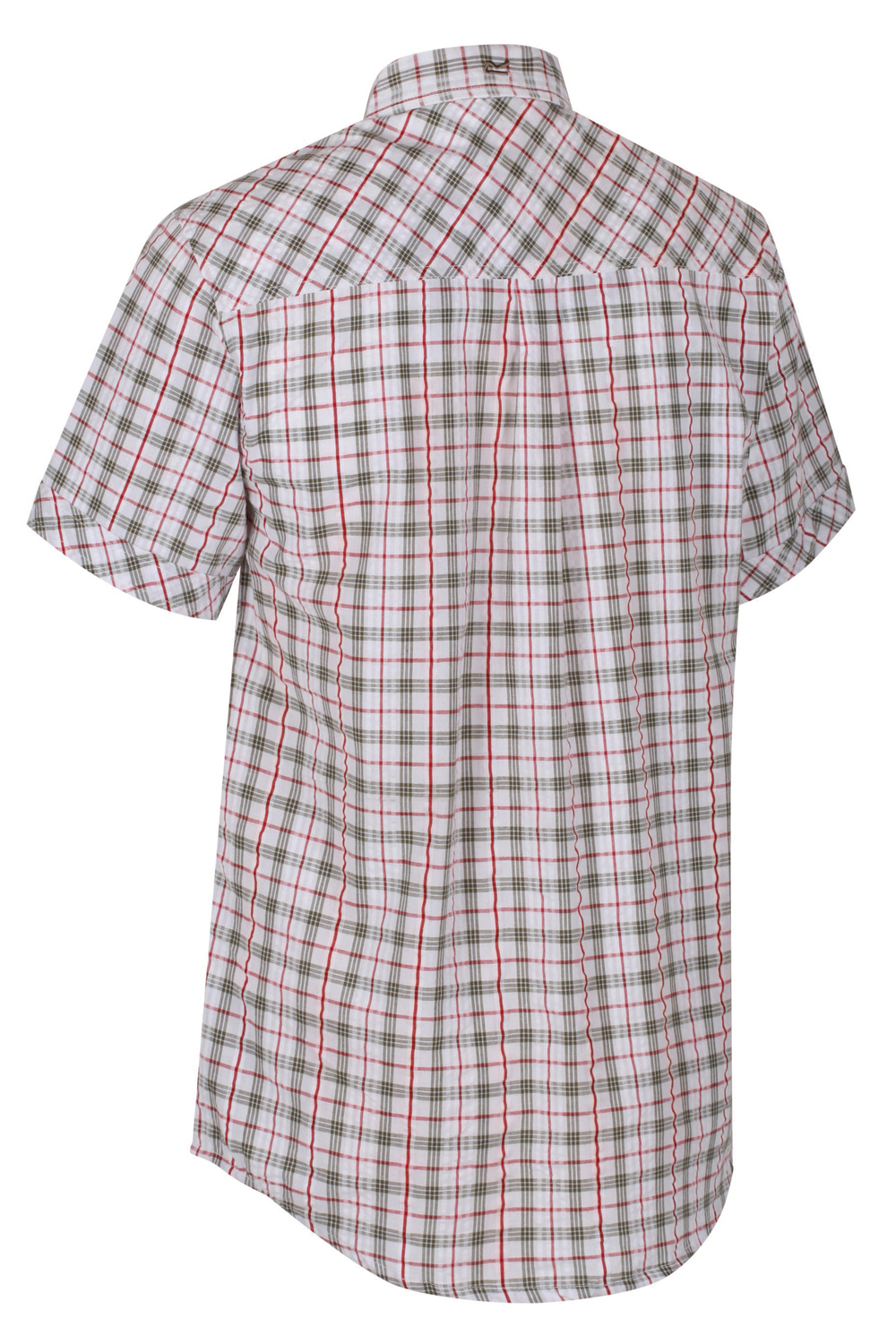 Regatta-Mens-Deakin-II-Coolweave-Cotton-Short-Sleeved-Summer-Check-Shirt-RRP-50 thumbnail 13