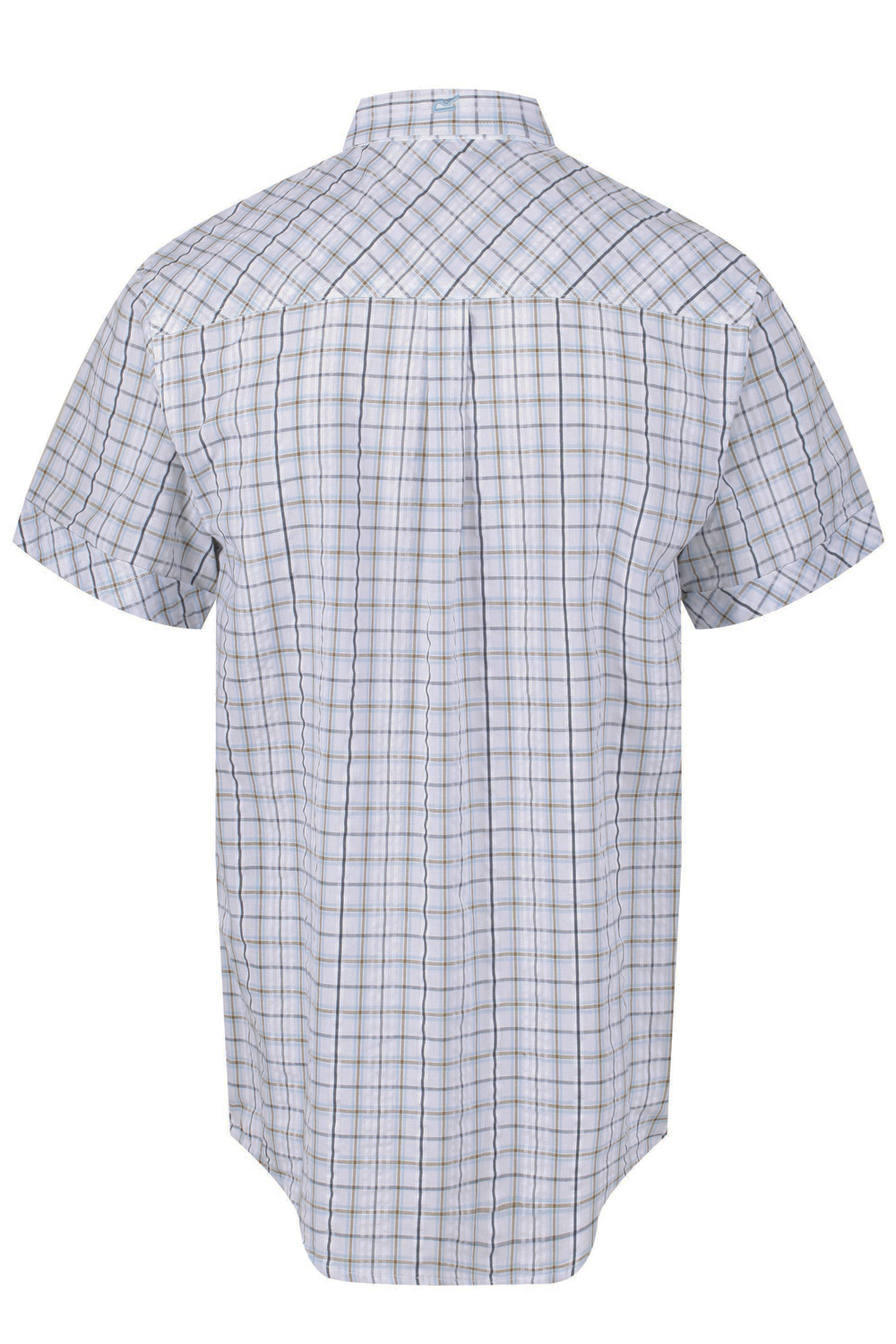 Regatta-Mens-Deakin-II-Coolweave-Cotton-Short-Sleeved-Summer-Check-Shirt-RRP-50 thumbnail 18