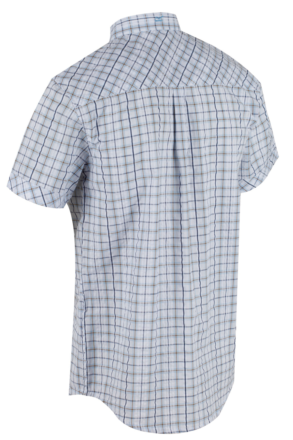 Regatta-Mens-Deakin-II-Coolweave-Cotton-Short-Sleeved-Summer-Check-Shirt-RRP-50 thumbnail 20