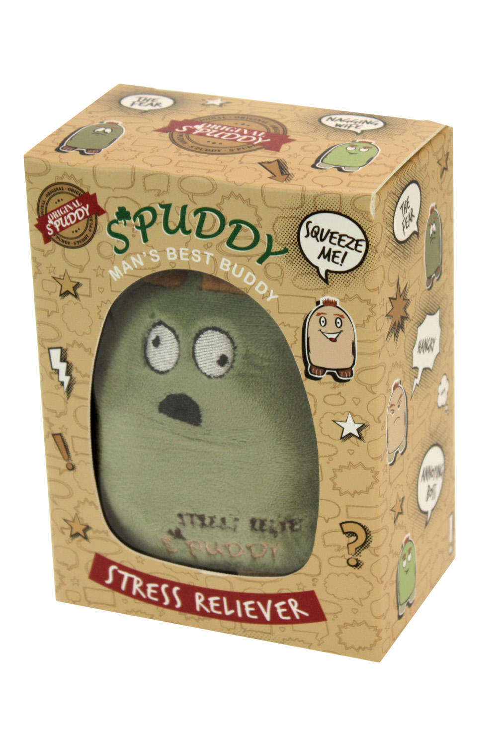 Spuddy-Novelty-Potato-Stress-Ball-Reliever-Adults-Emotion-Sensory-Squeeze-Toys thumbnail 8