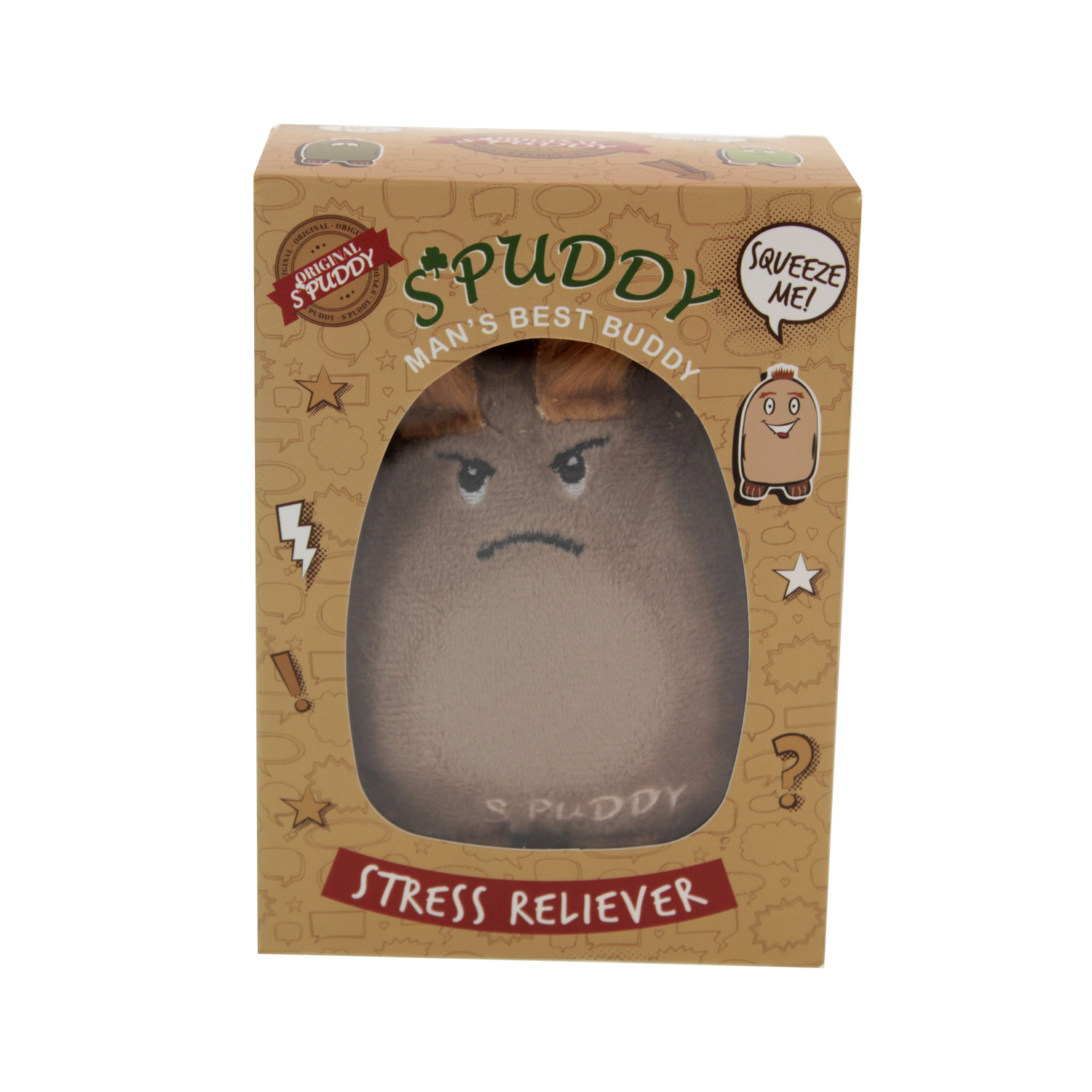 Spuddy-Novelty-Potato-Stress-Ball-Reliever-Adults-Emotion-Sensory-Squeeze-Toys thumbnail 4