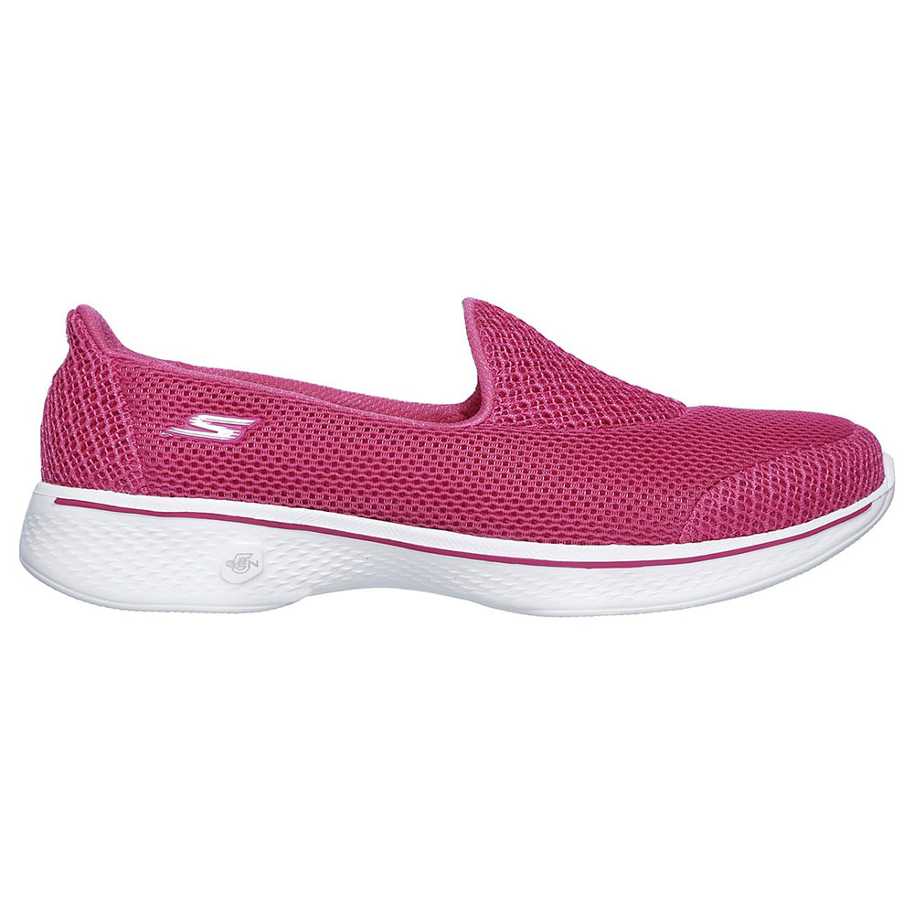 Skechers Damenschuhe Go Walk 4 Propel Sports Trainers Mesh Slip On Sports Propel Walking Loafers 2a0de9