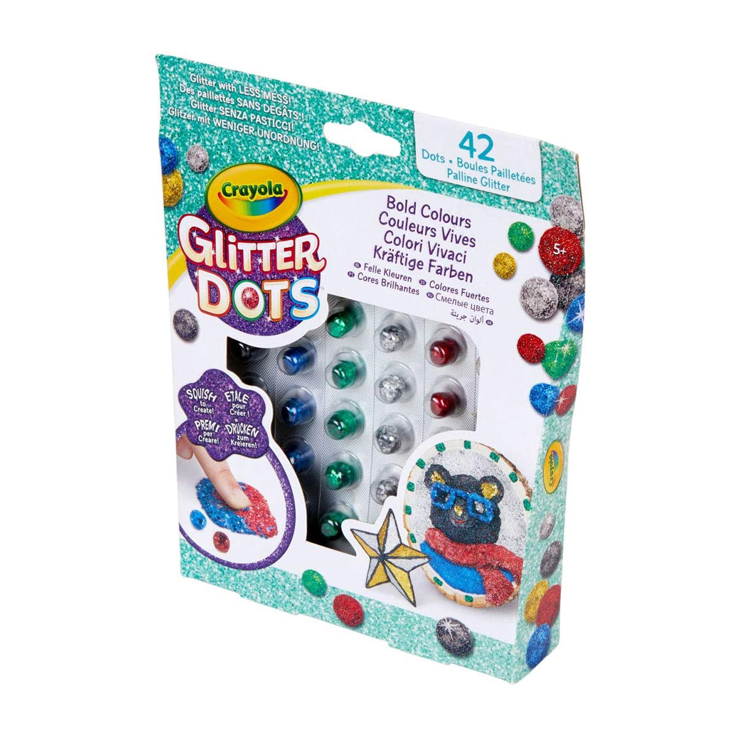 Crayola-Kids-Mouldable-Glitter-Dots-Assortments-OR-Sparkle-Station-Creative-Art thumbnail 7