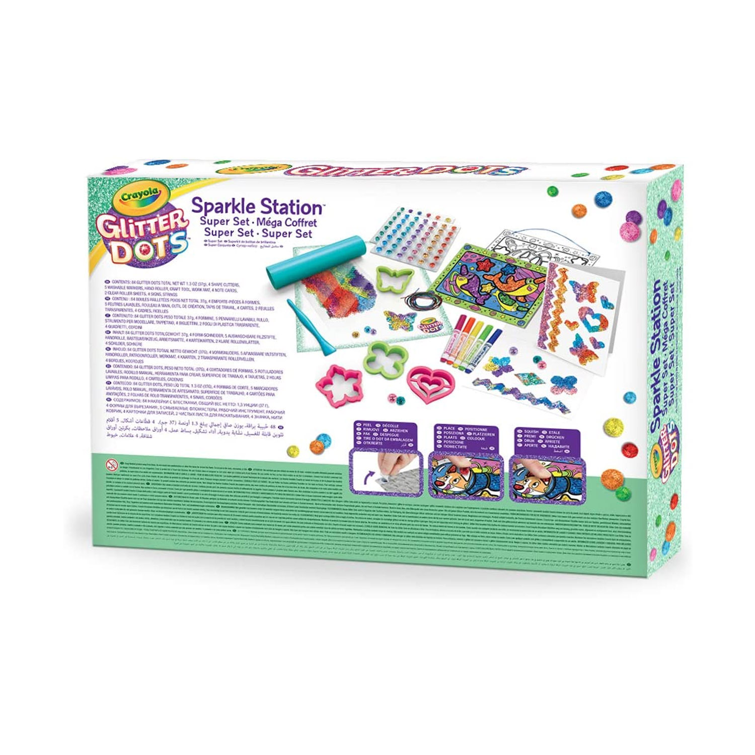 Crayola-Kids-Mouldable-Glitter-Dots-Assortments-OR-Sparkle-Station-Creative-Art thumbnail 5