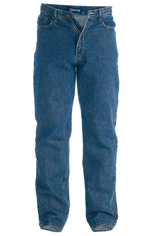 Duke-Rockford-Mens-Designer-Big-Tall-King-Size-Jeans-Denim-Pants-Clearance-Sale thumbnail 3