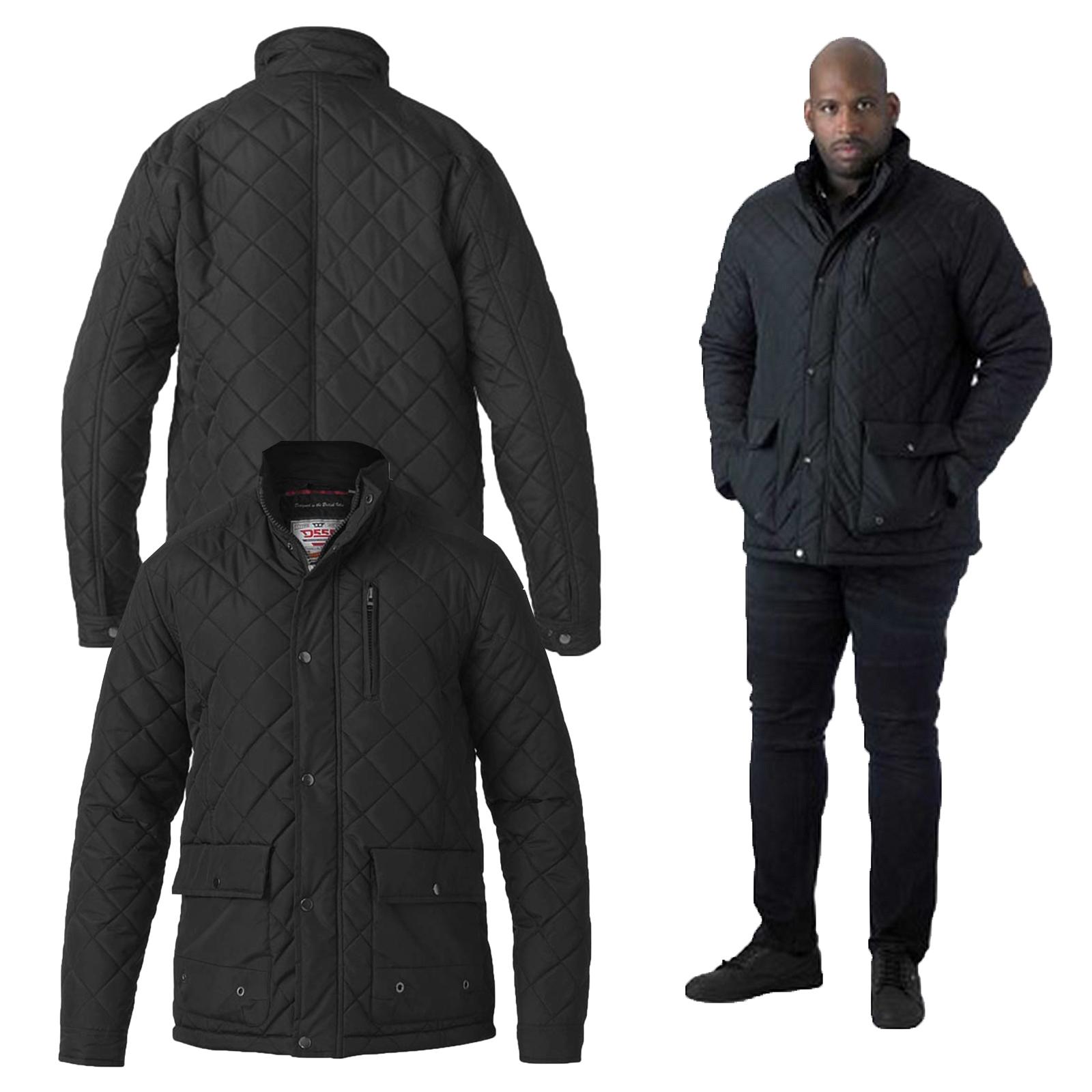 Adults Mens Kingsize Full Zip Hoodie Sweat Top Hooded Pockets Big Plus Size 52