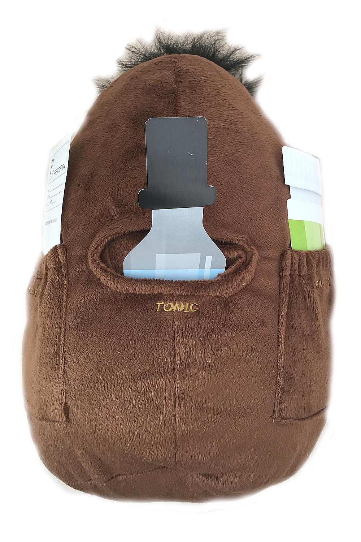 Novelty Work Spuddy Job Couch Potato Remote Snack Holder Pocket Career Cushion