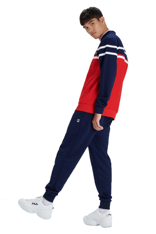 Fila-Mens-Naso-Track-Jacket-Casual-Retro-Sport-Fitness-Activewear-Zip-Up-Top thumbnail 6