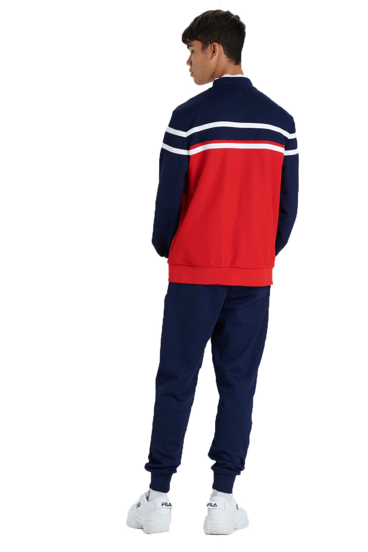 Fila-Mens-Naso-Track-Jacket-Casual-Retro-Sport-Fitness-Activewear-Zip-Up-Top thumbnail 7
