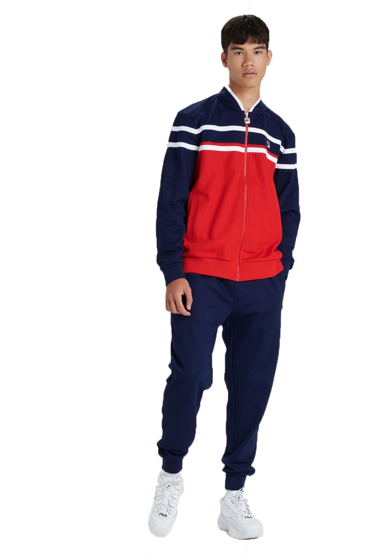 Fila-Mens-Naso-Track-Jacket-Casual-Retro-Sport-Fitness-Activewear-Zip-Up-Top thumbnail 3