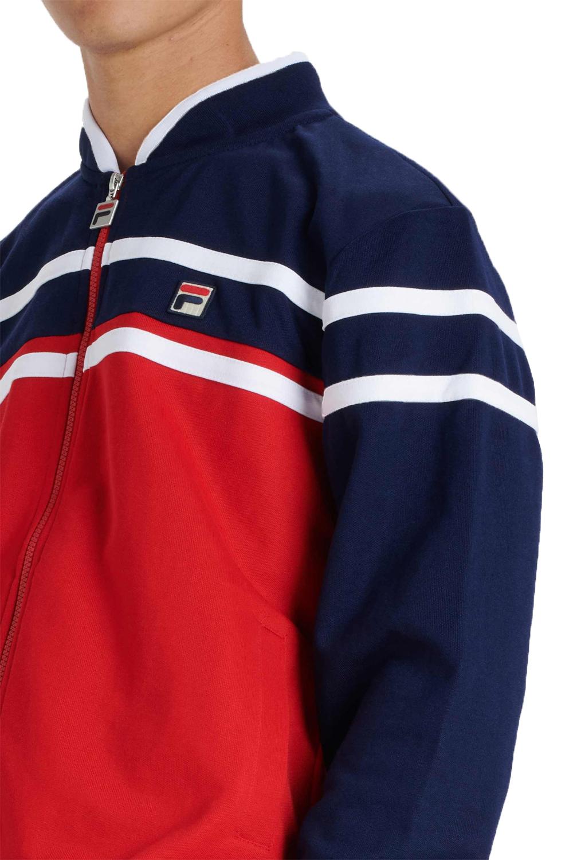 Fila-Mens-Naso-Track-Jacket-Casual-Retro-Sport-Fitness-Activewear-Zip-Up-Top thumbnail 4
