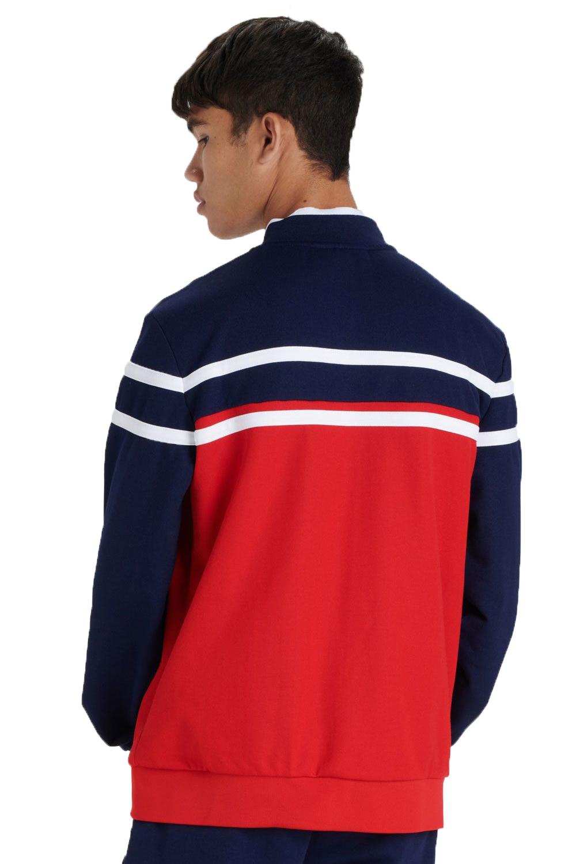 Fila-Mens-Naso-Track-Jacket-Casual-Retro-Sport-Fitness-Activewear-Zip-Up-Top thumbnail 5