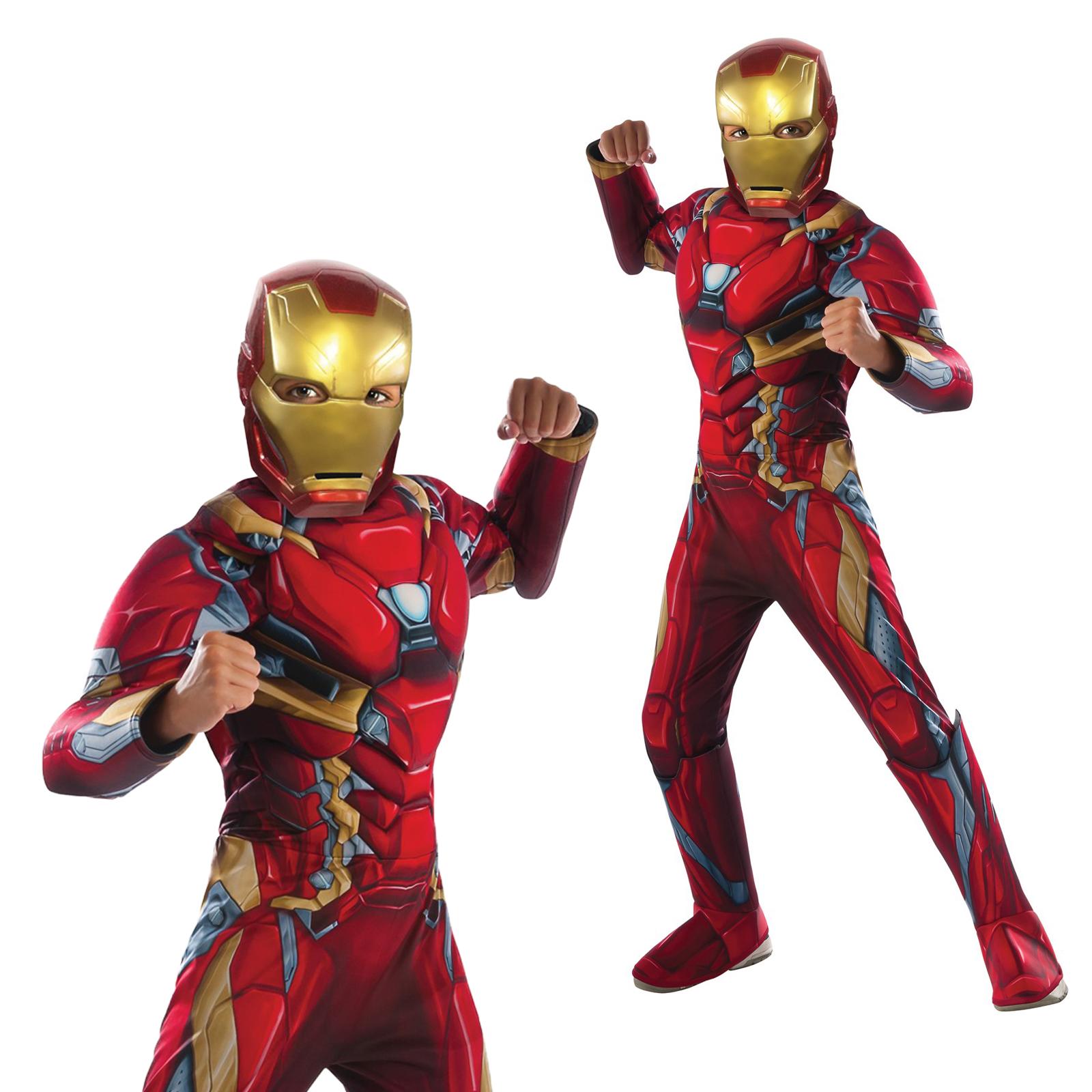 7e94241e514 Rubies Infantil Captain America  Civil War Disfraz De Iron Man Traje