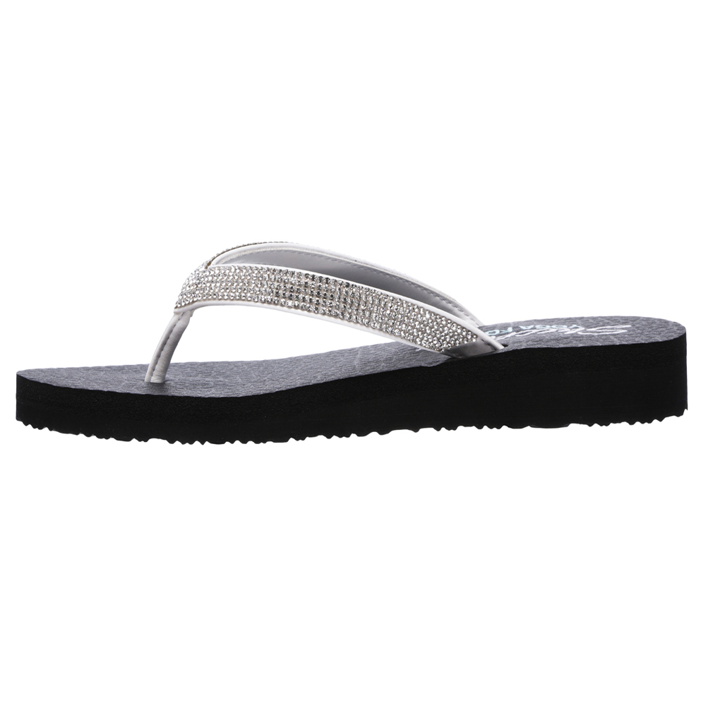 Skechers Womens Meditation Yoga Foam Toe Post Flip Flops