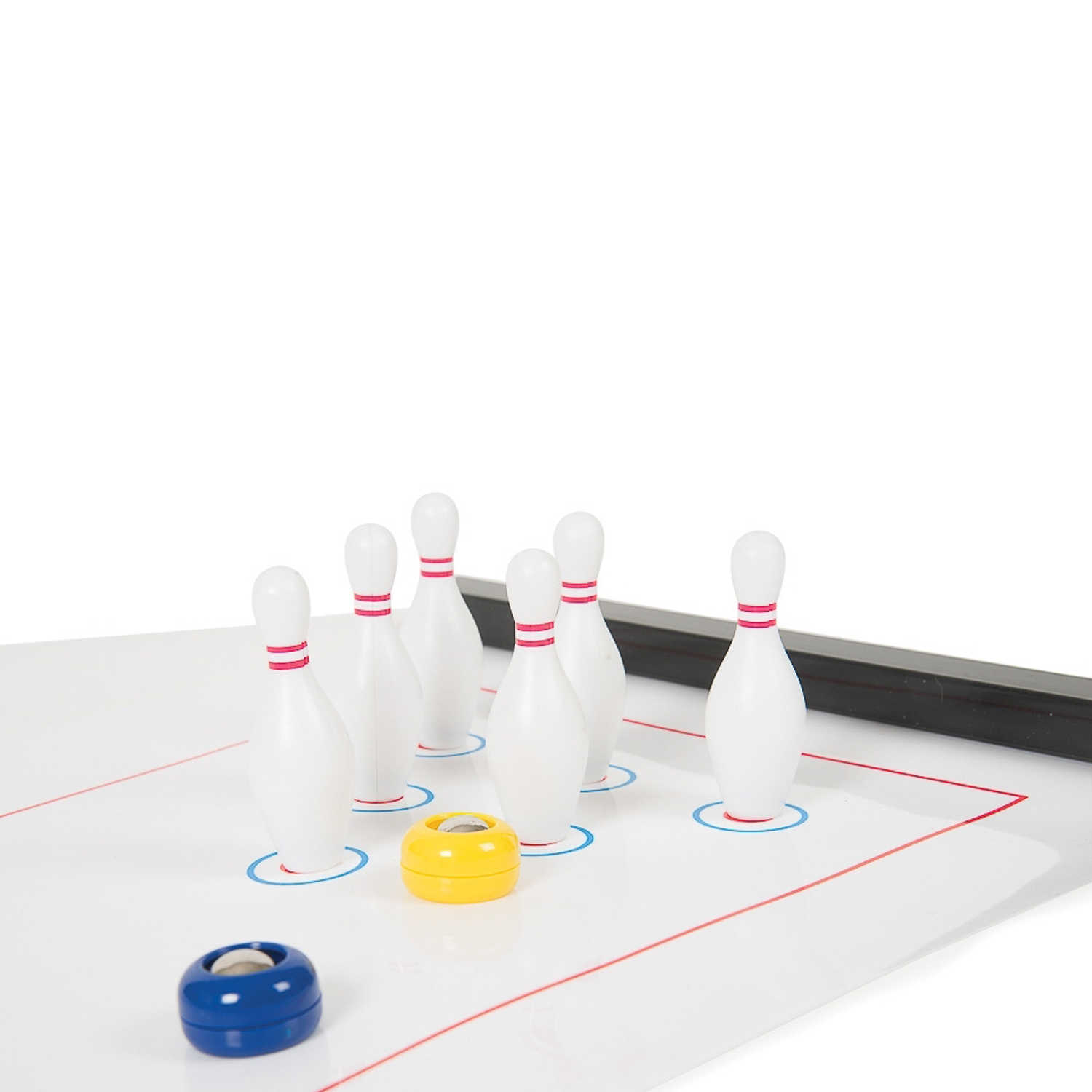Funtime-Instant-Kids-Children-Family-Mini-Bowling-Or-Curling-Activity-Game thumbnail 8