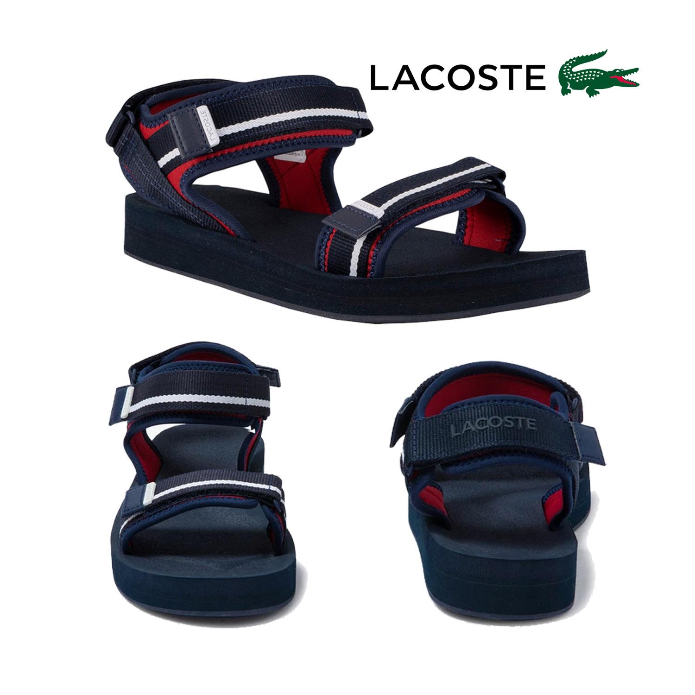 Lacoste Mens Suruga Textile Sandals